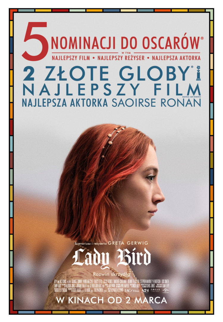 Lady Bird - plakat